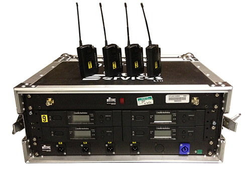 hire radio microphones systems