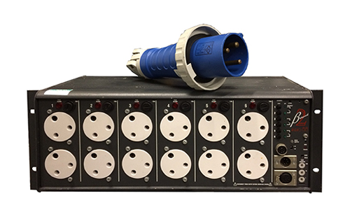 betapack stage lighting dimmer hire