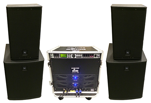 public address system hire