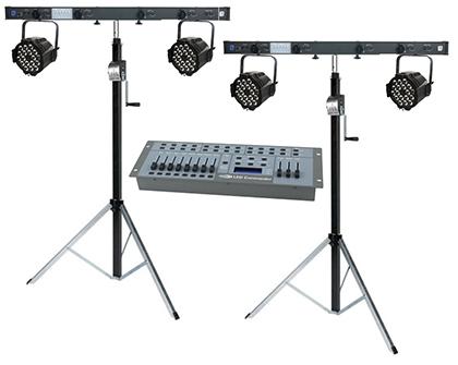LED Stage Lighting Kit 1  sc 1 st  Stage Services & Portable LED Stage Stage Lighting Kits azcodes.com