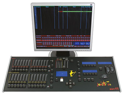 led stage lighting console jester ml zero88