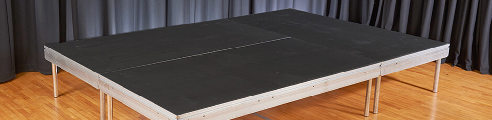 demountable portable stage decking equipment