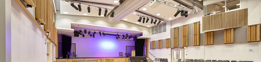 Specialist design and installation of School Hall LED Stage Lighting ...