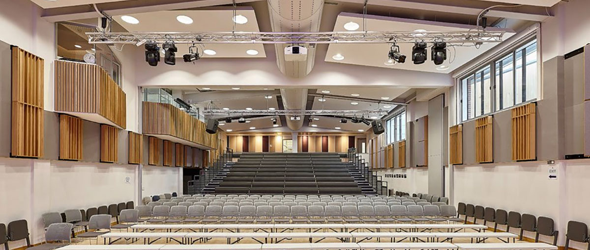 specialist stage lighting installers for schools halls theatres