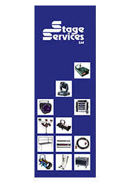 stage services equipment hire guide, West Sussex & Hampshire