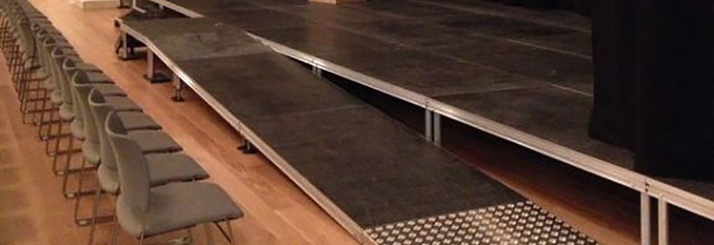 hire portable disabled wheelchair stage access ramp